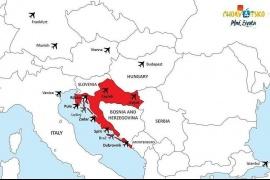 Chorvátsko letecky, už od apríla a (nielen) na miesta, kde sa nakrúcali Hry o tróny